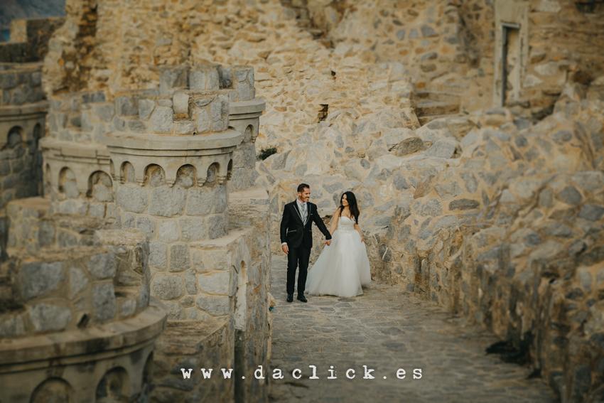 postboda castillo cartagena