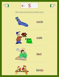 http://www.abcfastphonics.com/consonant-letters/consonant-s.html
