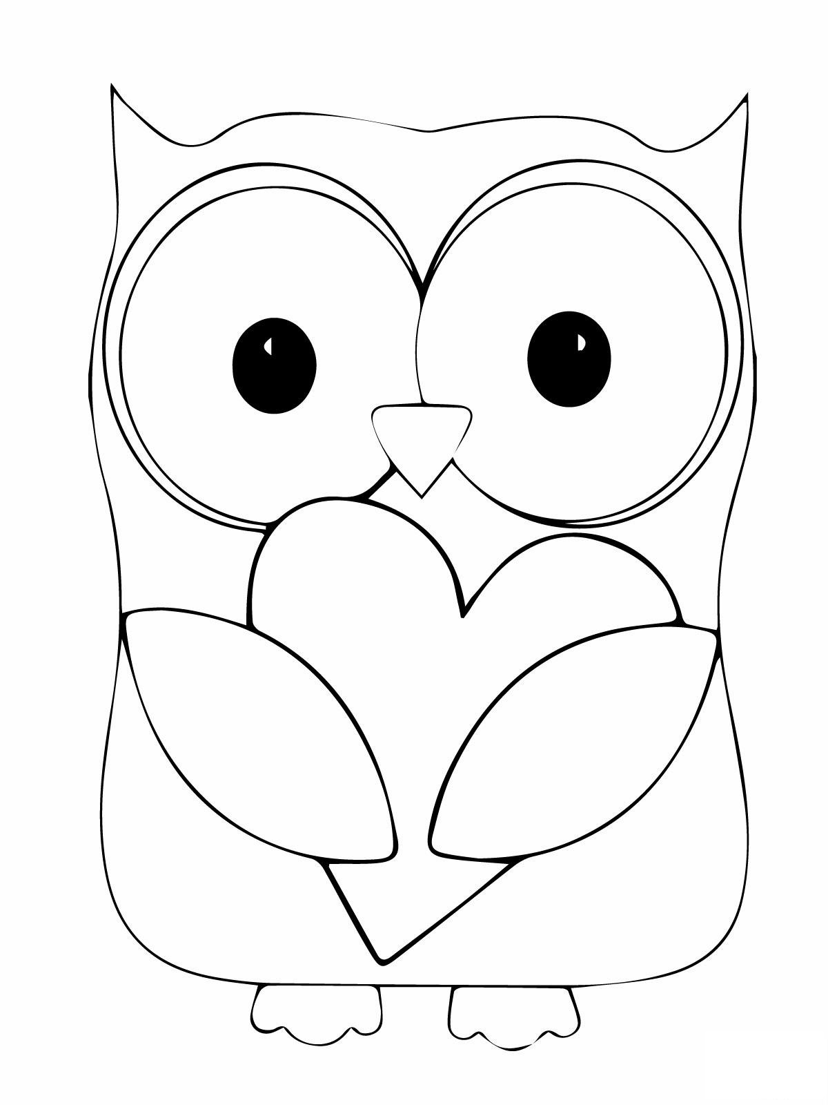 a owl coloring pages - photo #6