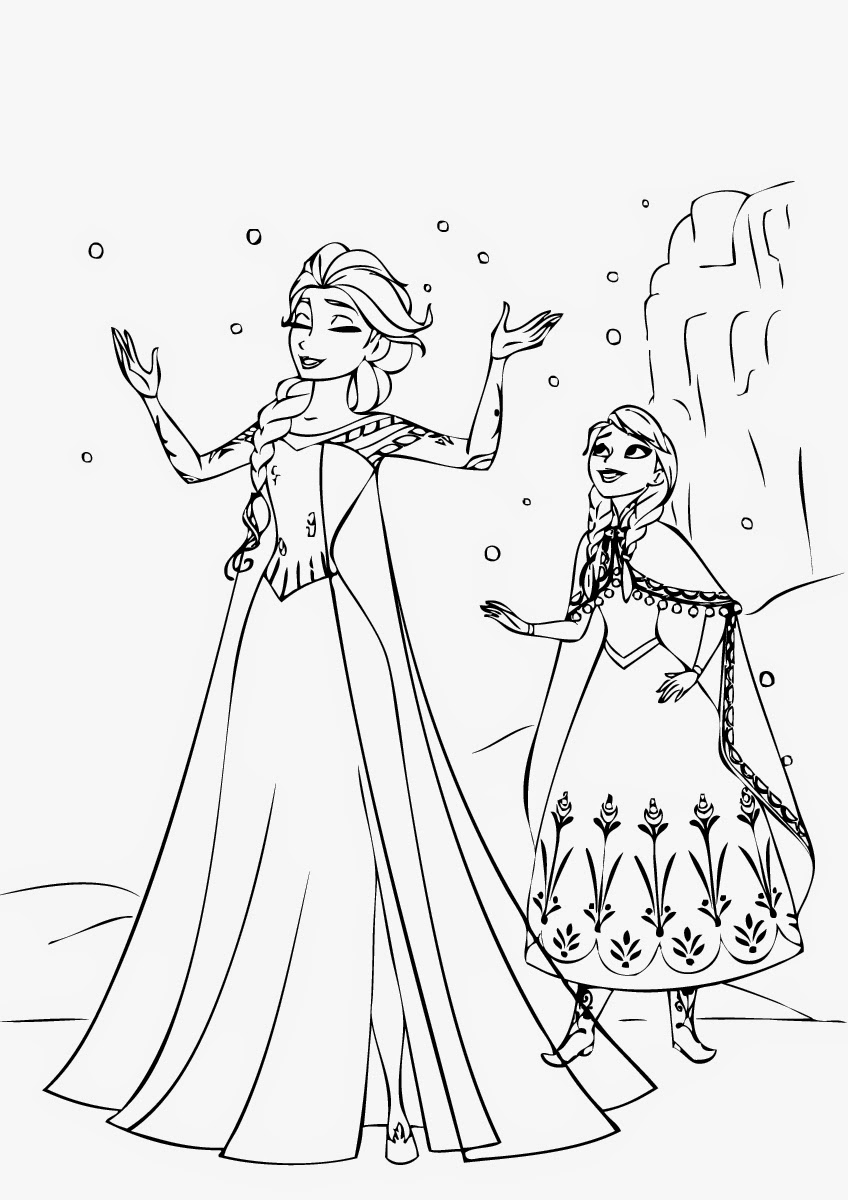 frozen 2 print coloring pages - photo#9
