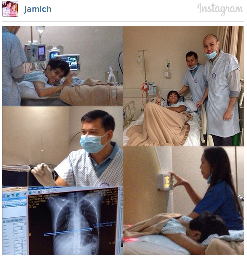 Jam Sebastian has Cancer - the YouTube Love Team Jamich.