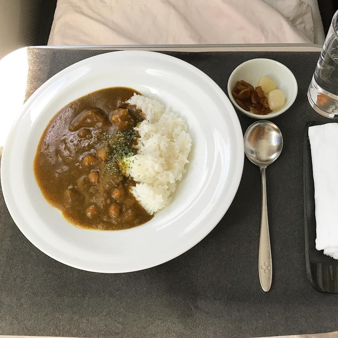 機内食:2017年6月 / 日本航空・JAL408(JL408) / ドイツ・フランクフルト=東京・成田 / ビジネスクラスス