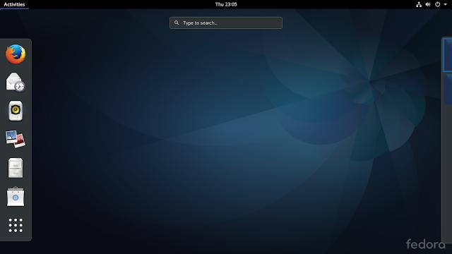 Fedora 25 utilizando o GNOME 3.22