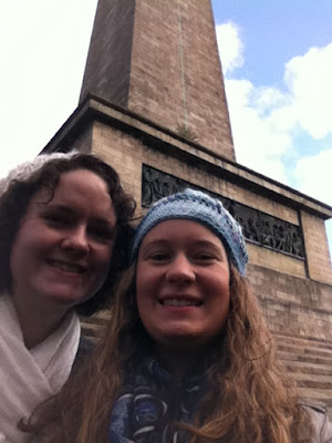Lauren and I with Wellington! :)
