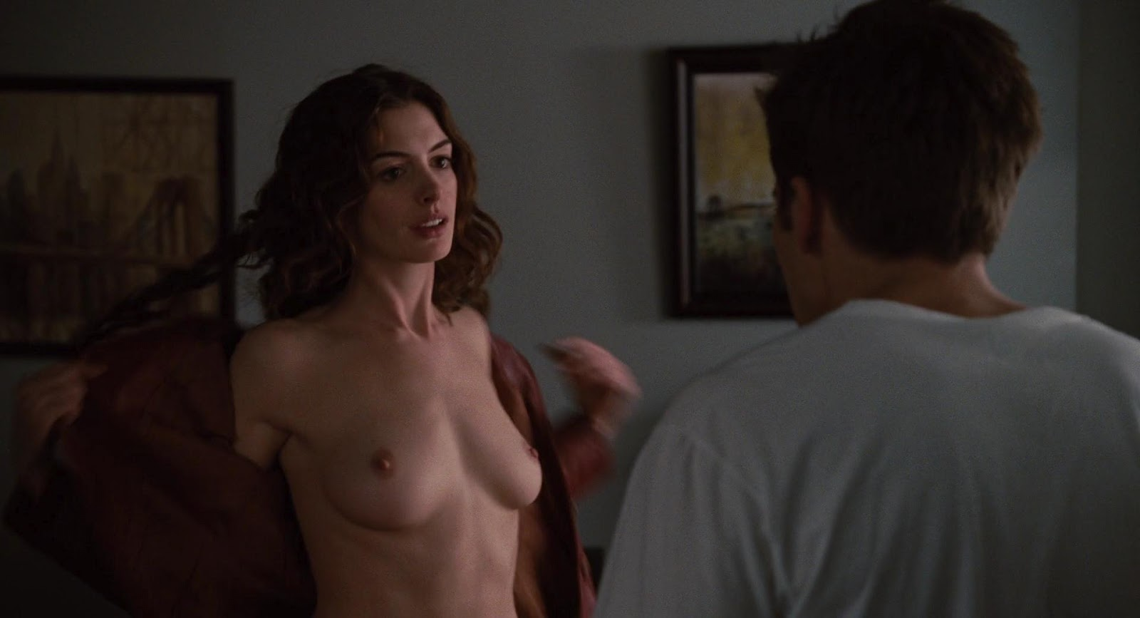 Hot nude hathaway anne