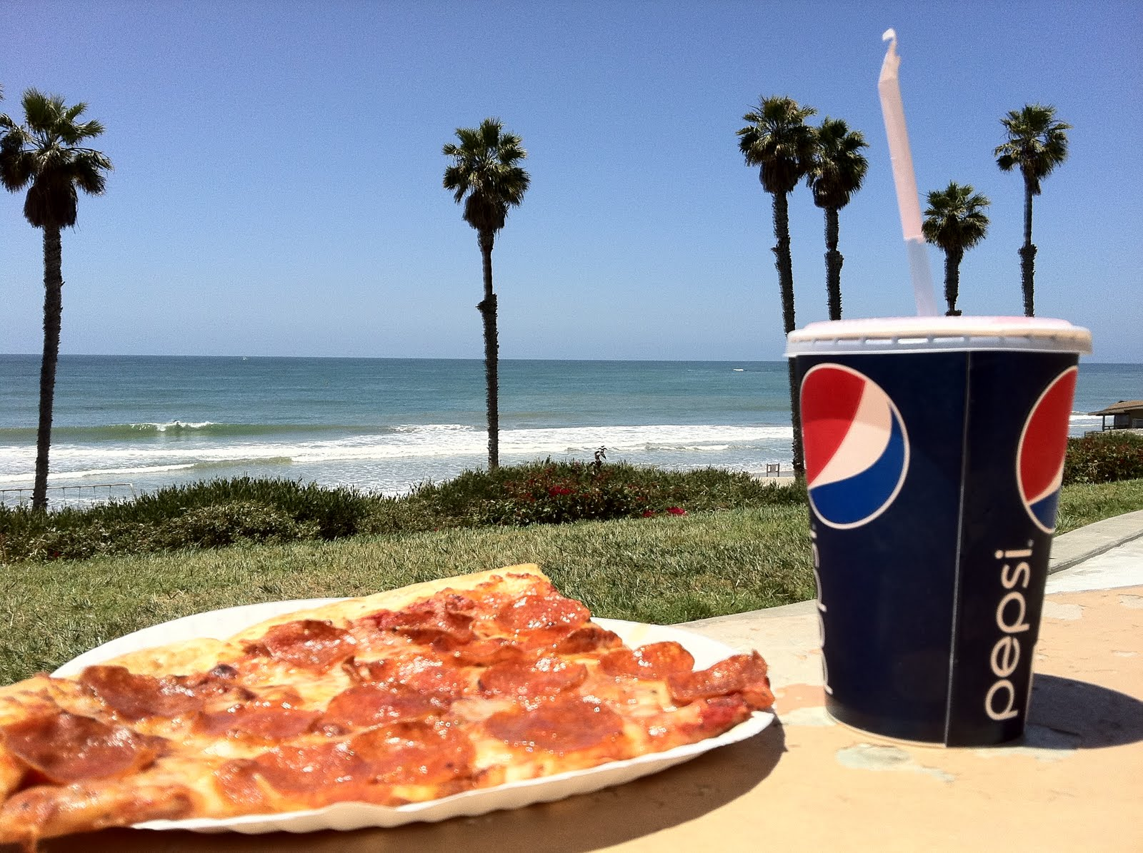 Pizza Party At The Beach With San Clemente Green
