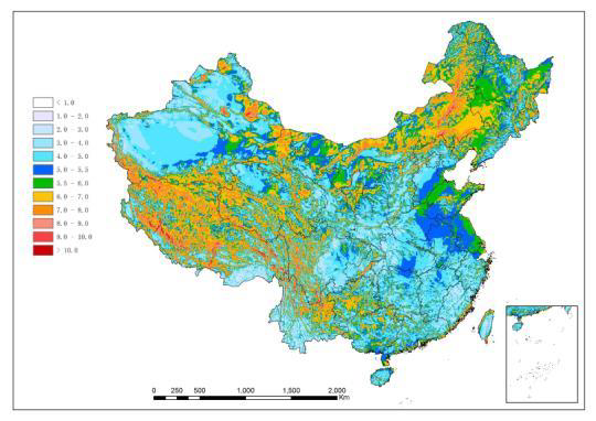 China Leads With Wind Energy REVE - Wind Map For This Week Us