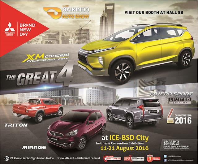 KTB Mitsubishi Motors di GIIAS 2016