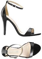Sandale cu baretă finuţă pe gleznă