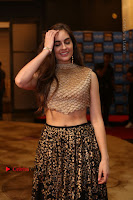 Actress Model Sarah Hopkins Latest Pos in Lehenga Choli at SIIMA Short Film Awards 2017 .COM 0001.JPG