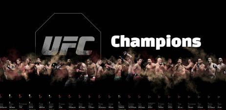 wwe, ufc, world, heavyweight, light heavyweihgt, winners, champions ,all-time,  category, list,
