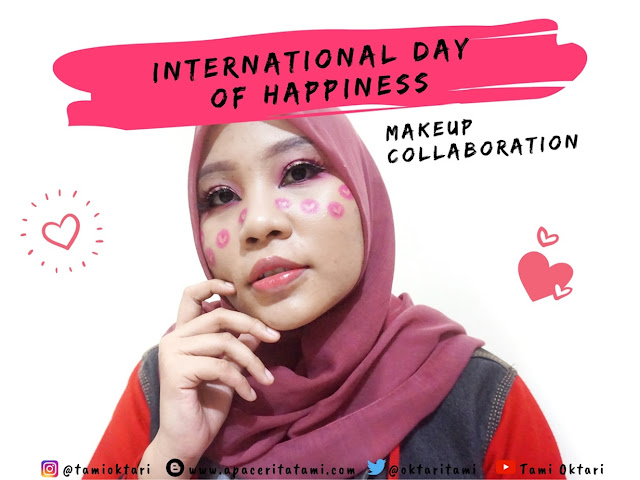BEAUTIESQUAD COLLAB: Love Makeup Inspired | International Day of Happiness Makeup