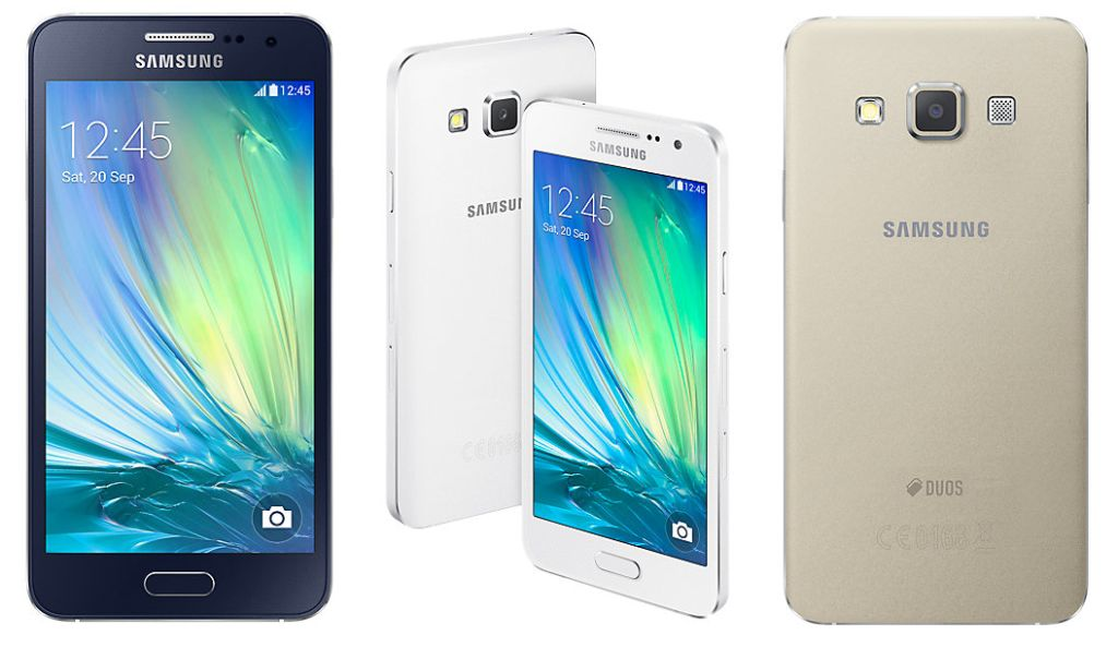 Samsung Galaxy A3 beserta fitur dan spesifikasi lengkap