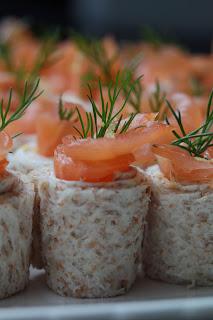 saumon fumé, aperitif, noel,original, citron