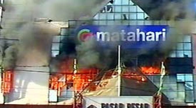 apa penyebab kebakaran pasar besar kota malang pagi tadi