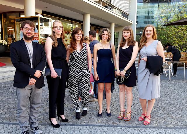Treffen in Berlin zur PETS Filmpremiere
