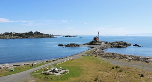 Fisgard Lighthouse Vancouver Island BC