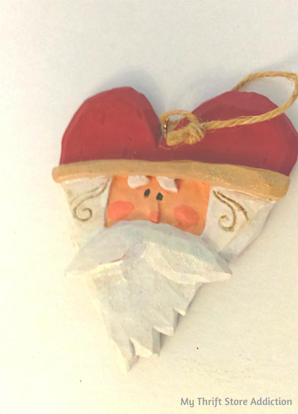 vintage Kurt Adler Santa ornament
