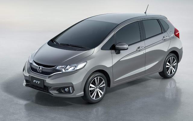 novo Honda FIT EX 2018