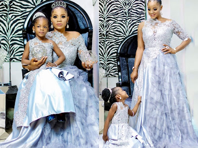 """""""I'm Proud To Be A Single Mom"""" - Uche Ogbodo Says As She Writes Daughter"""