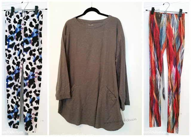 art smock, Urban Outfitters, Target, leggings, bright, gray, casual, comfortable, pockets, dress, long sleeves