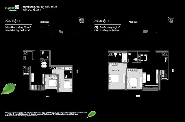 11 và 12 tầng 3 The Arcadia Vinhomes Gardenia