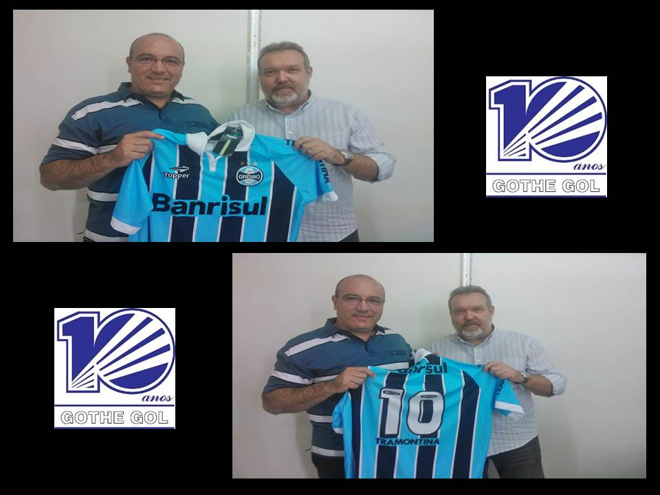 Quem na sexta feira recebeu uma camisa oficial do Grêmio antes de subir a  serra e fazer uma bela competição no Estadual Especial estreando nos lisos 3f77c5b6fbd7b