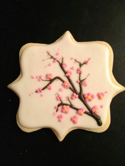 Cherry Blossoms Cookie