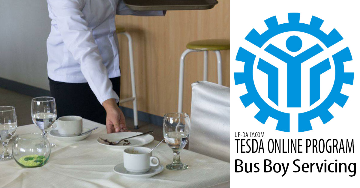 Learn Bus Boy Servicing Free at Tesda Online Program