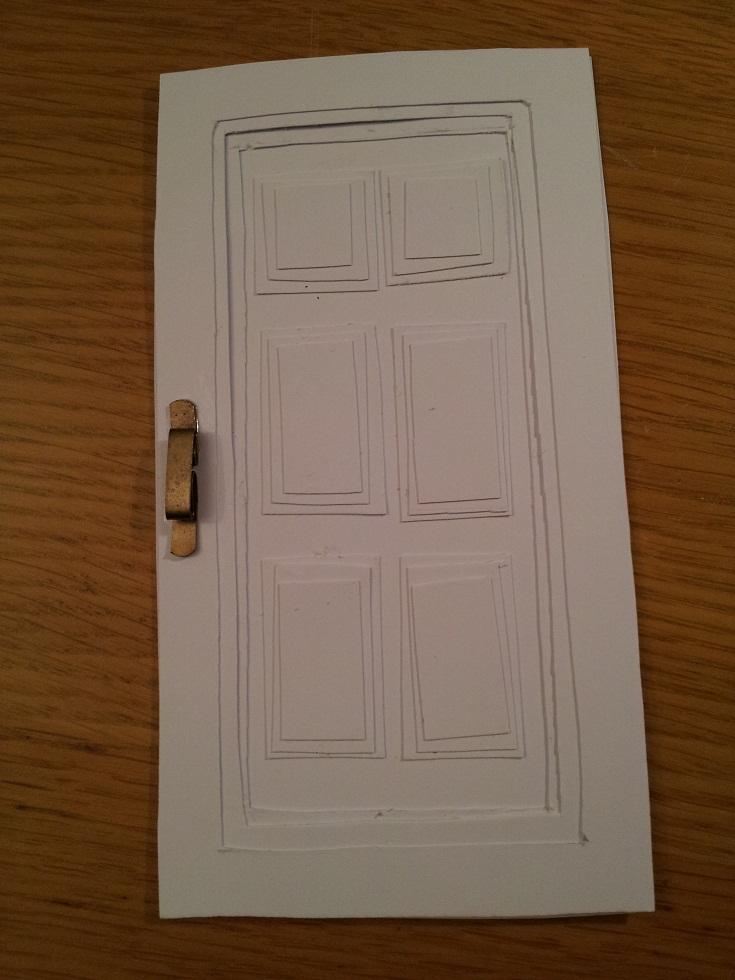 Dollhouse Escapes Making A Fancy Door
