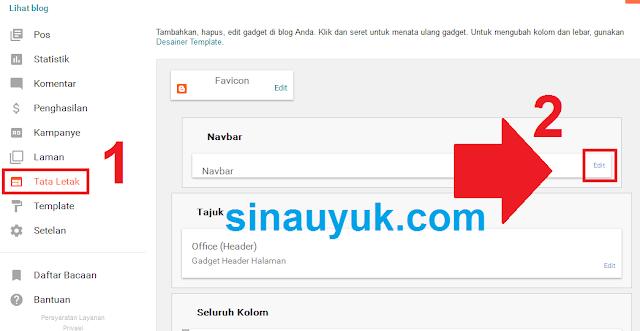 Navbar,blog,blogger,remove navbar,menghilangkan navbar,menghapus navbar