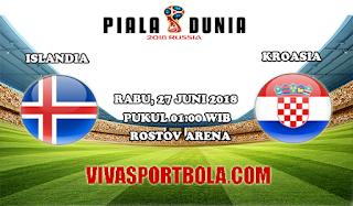 Prediksi Bola Islandia vs Kroasia 27 Juni 2018
