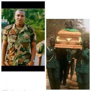 a fallen hero soldier