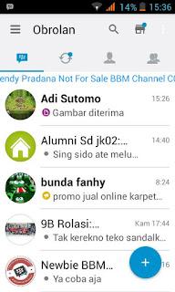BBM Mod I-Phone IOS V2.13.1.14 Apk Not Clone