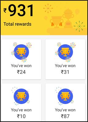 Tez app Payment Proof