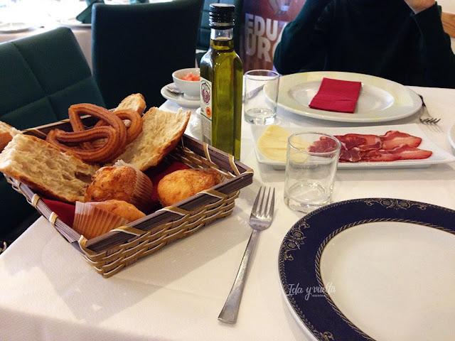 Hotel De Martín desayuno