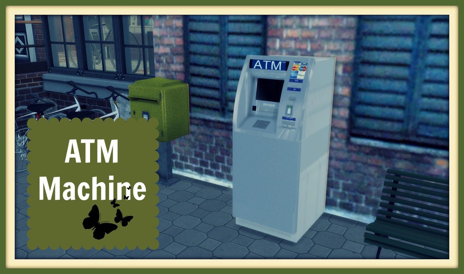 atm bank machine