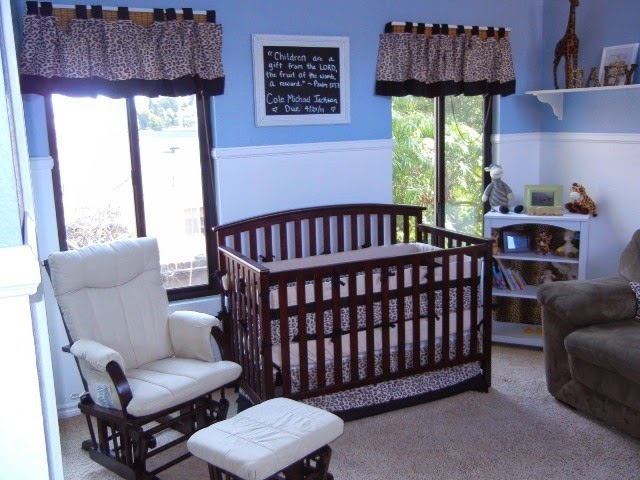 Wall Paint Ideas for Baby Nursery Room