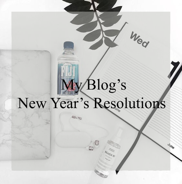 Last week I have posted my NEW YEAR'S RESOLUTIONS post and in this post I asked you if you would want to see my blog New Year's resolutions and some of you said yes, so here I am sharing my ten blog goals for 2017.