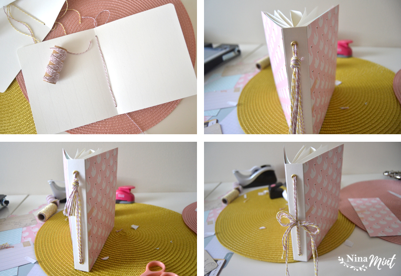 tutorial mini álbum scrapbooking
