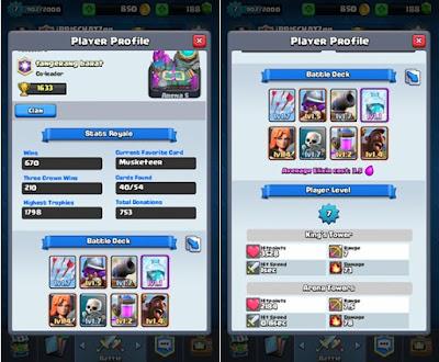 King Level Clash Royale