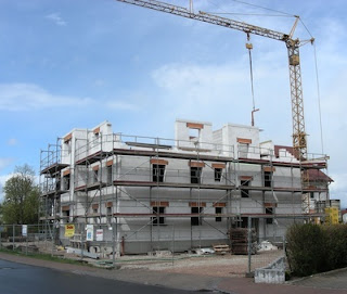Baugenehmigungen für Wohnungen steigen