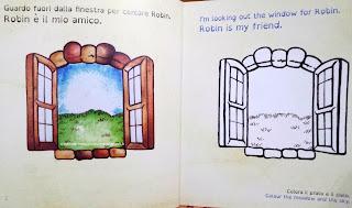 Il mio amico Robin - libro per bambini in italiano e inglese