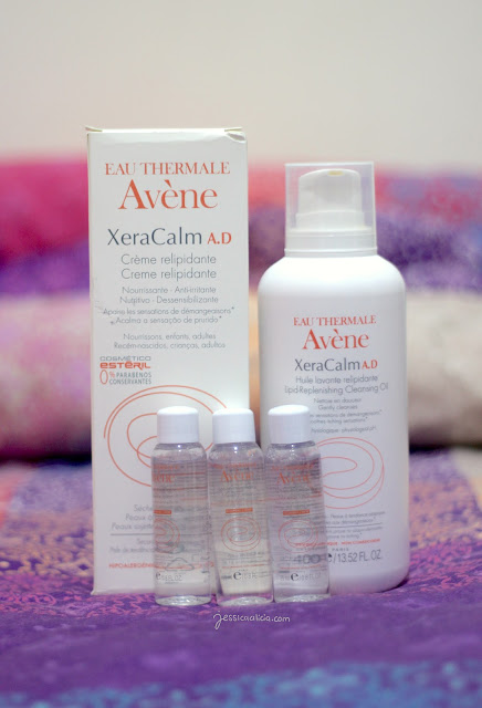 Avene XeraCalm A.D Lipid-replenishing Cleansing Oil & Cream Jessica Alicia