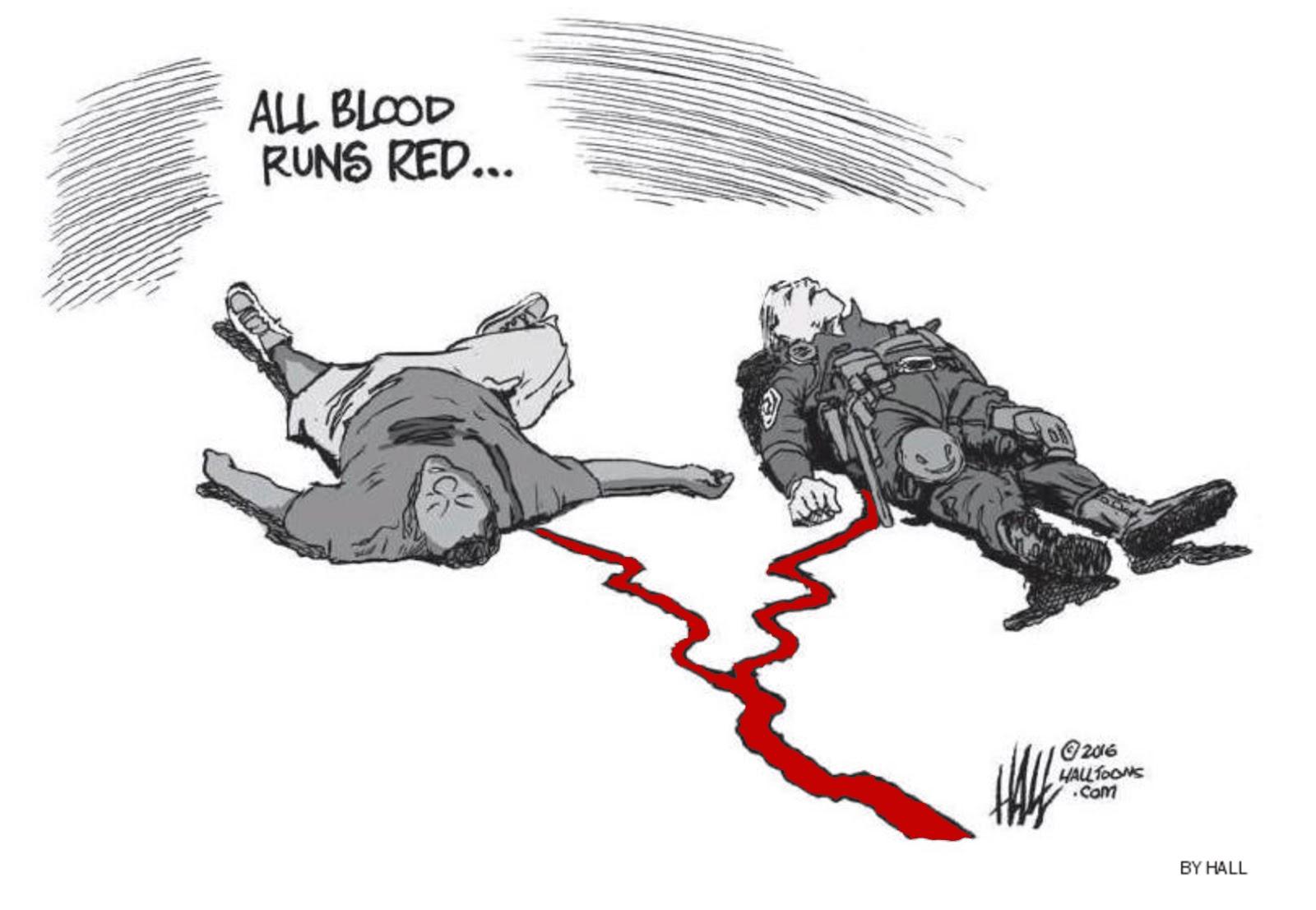 Statpics: All Blood Runs Red