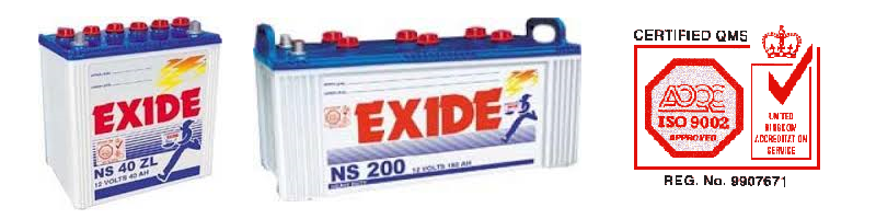 Exide Battery 2015 Price