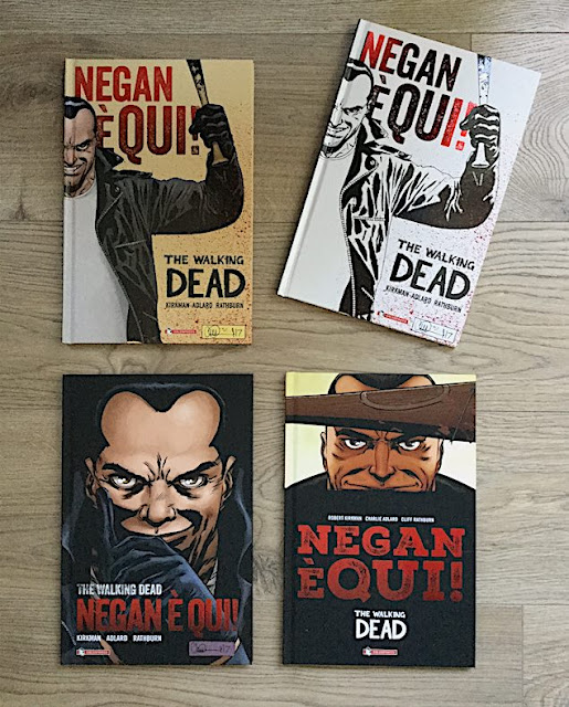 """Negan è qui!"", 4 differenti cover"