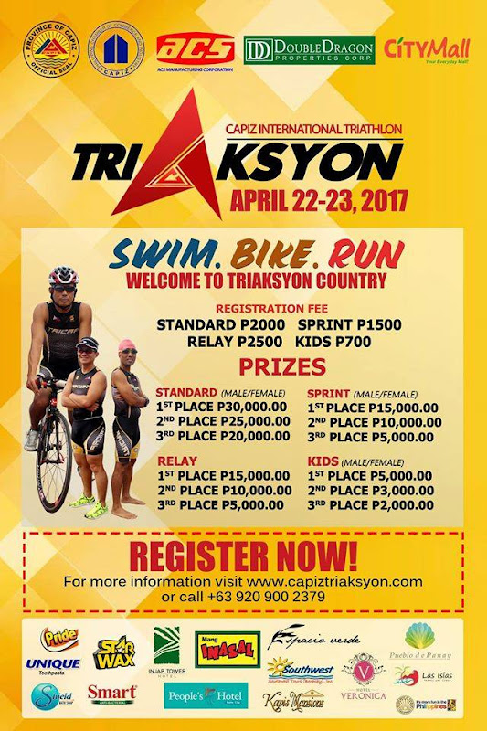 CAPIZ READY TO HOST FIRST INTERNATIONAL TRIATHLON IN APRIL