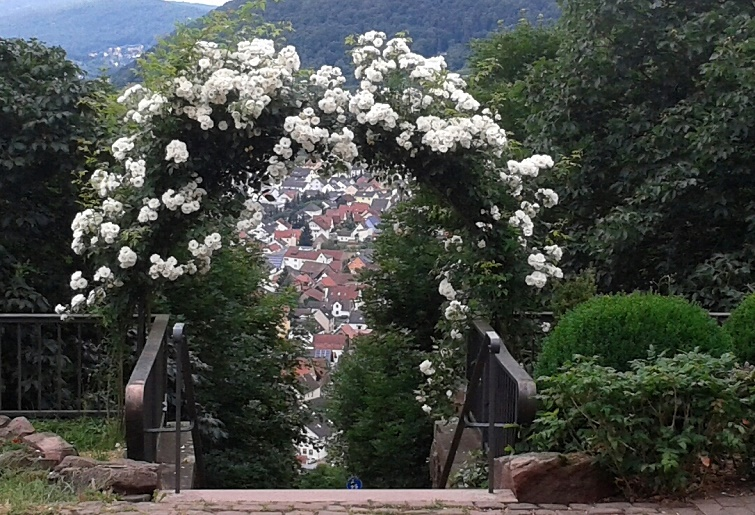 Gartendeko blog ein rosenbogen als gartenpforte for Romantische gartendeko