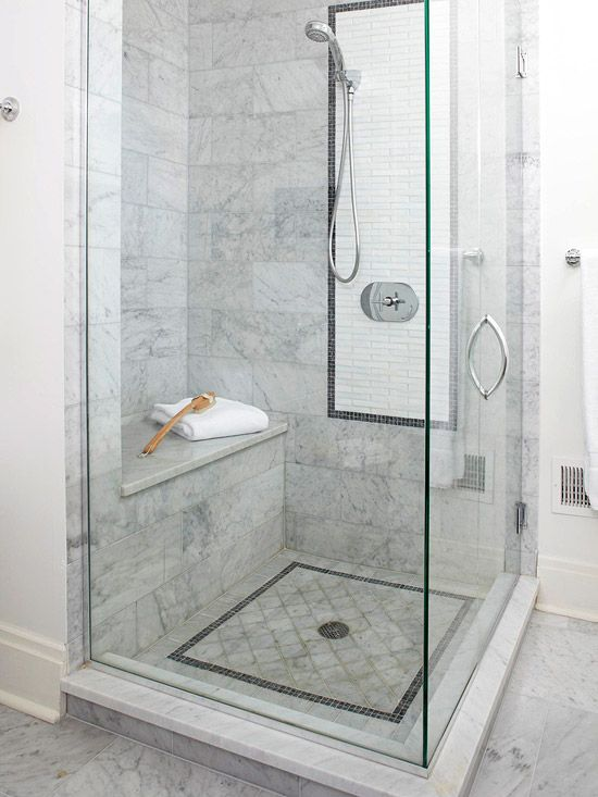 Marble And Stone Inspired Shower Tiles! Home Decor